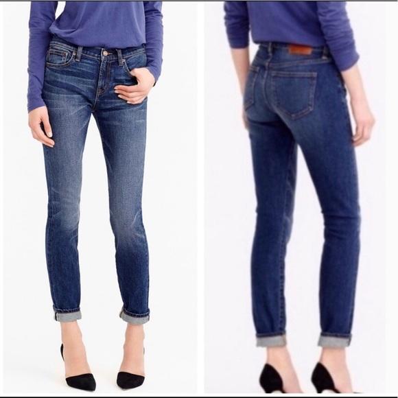 J Crew selvedge toothpick skinny jeans size 29P